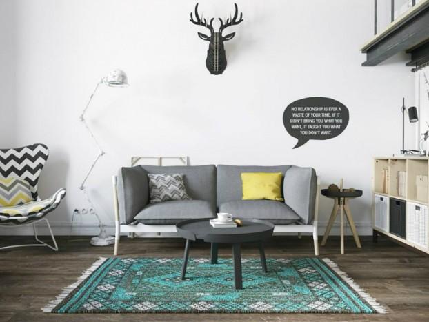 Sử dụng màu vàng táo bạo cho căn hộ chuẩn phong cách Scandinavia tạo bất ngờ lớn - Ảnh 2.