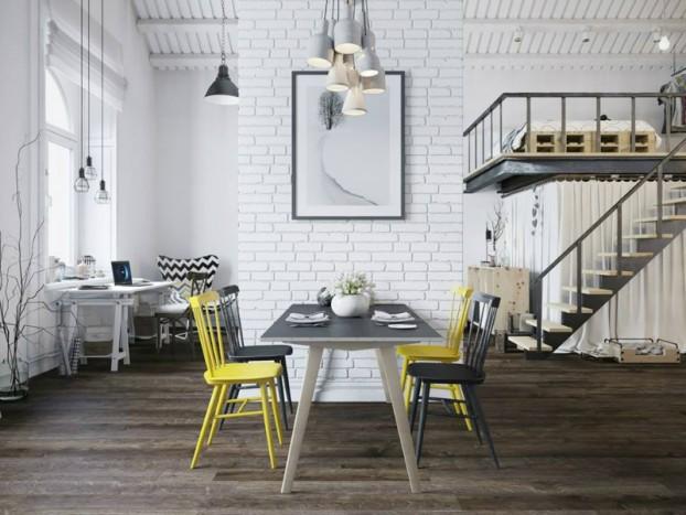 Sử dụng màu vàng táo bạo cho căn hộ chuẩn phong cách Scandinavia tạo bất ngờ lớn - Ảnh 3.
