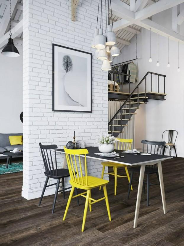 Sử dụng màu vàng táo bạo cho căn hộ chuẩn phong cách Scandinavia tạo bất ngờ lớn - Ảnh 5.