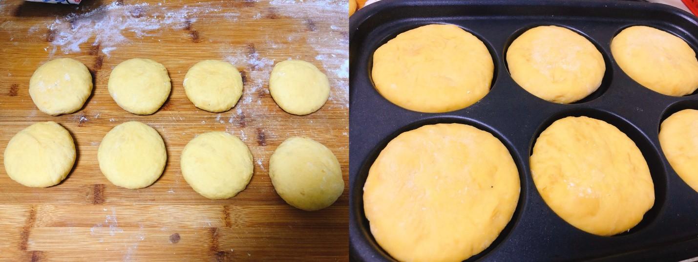 Bánh bí đỏ mềm ngọt dễ làm chẳng cần lò nướng - Ảnh 3.