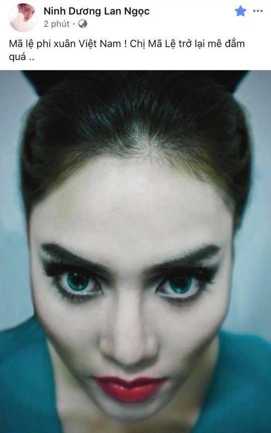Ninh Dương Lan Ngọc tự tin tuyên bố mình là Maleficent Việt  Nam, tạo hình đẹp không kém bản gốc - Ảnh 1.