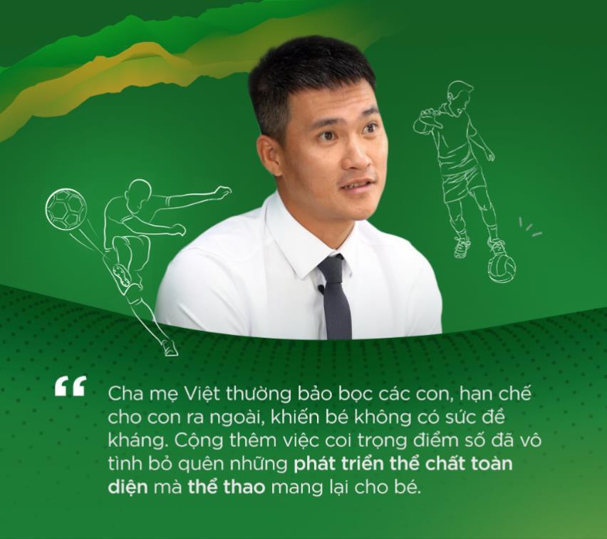Công Vinh, Thanh Thảo cùng các chuyên gia chia sẻ cách dạy con phát triển toàn diện thông qua chơi thể thao - Ảnh 3.