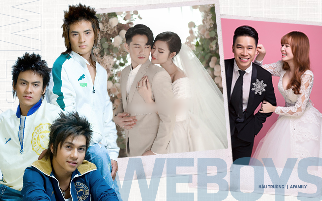 Đường tình đối lập của các thành viên nhóm Weboys: Người đào hoa nhất nhì Vbiz, người làm bố đơn thân, riêng Ông Cao Thắng 10 năm vẫn chỉ yêu một người - Ảnh 1.