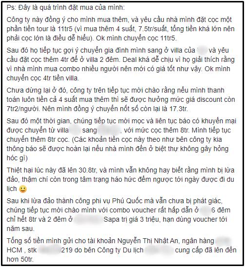 """Nữ HLV nổi tiếng Hana Giang Anh bị tố """"đồng lõa"""" với công ty du lịch ma để quảng cáo, lừa đảo hơn 50 triệu của khách hàng - Ảnh 5."""