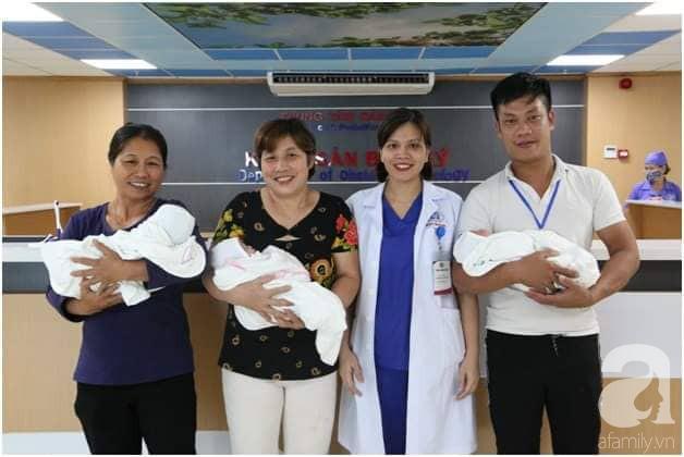 Các bác sĩ tại trung tâm Sản Nhi Phú Thọ vỡ òa khi chào đón ca sinh 3 đầu tiên - Ảnh 5.