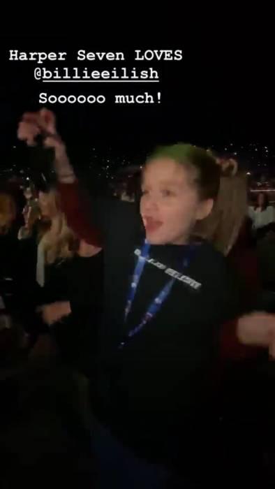 Tiểu công chúa kiêu kỳ Harper Beckham lần đầu gây kinh ngạc khi quẩy cực sung trong concert âm nhạc - Ảnh 2.