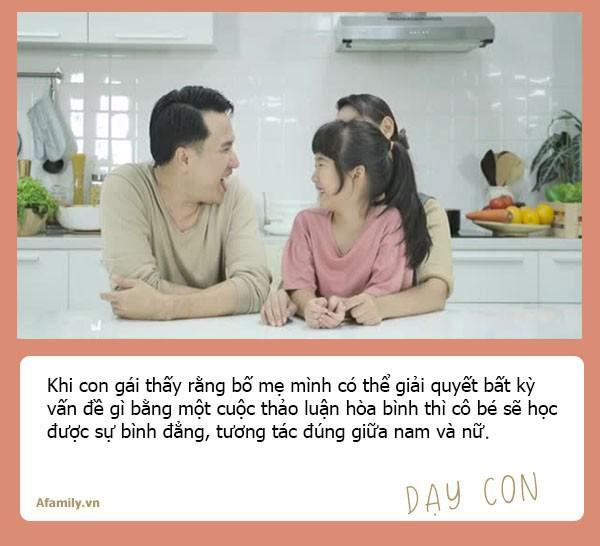 Muốn con gái một đời bình an, tất cả các ông bố hãy dạy con 10 bài học đắt giá hơn vàng này - Ảnh 10.