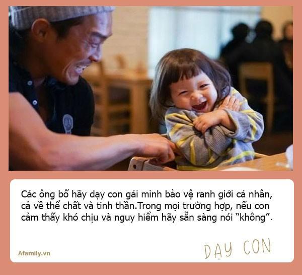 Muốn con gái một đời bình an, tất cả các ông bố hãy dạy con 10 bài học đắt giá hơn vàng này - Ảnh 7.