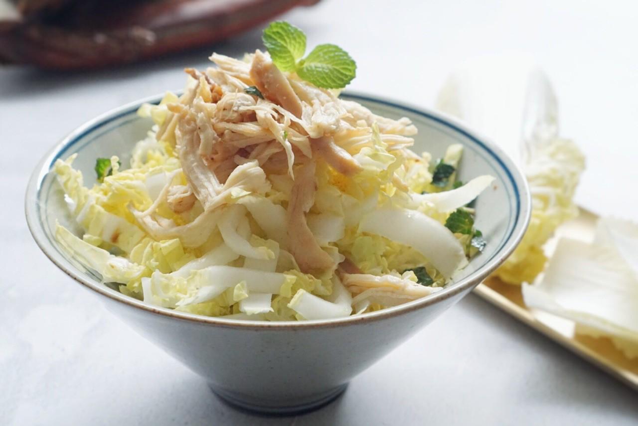 Salad gà trộn cải thảo - Ảnh 5.