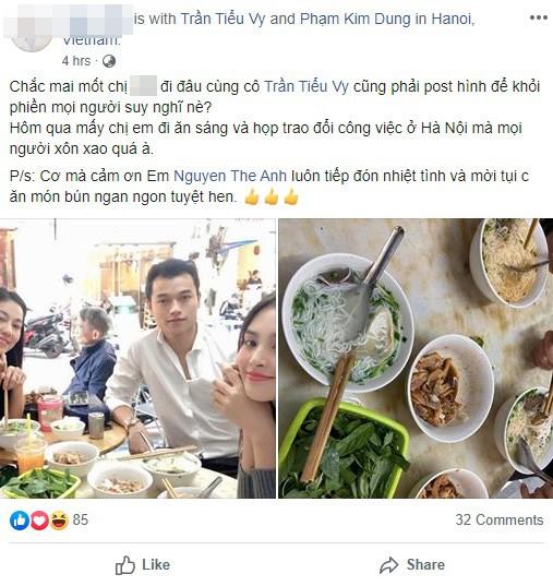 """Không để mọi người chờ đợi lâu, Hoa hậu Tiểu Vy cuối cùng đã có động thái trước tin đồn hẹn hò """"tình cũ"""" của Á hậu Huyền My - Ảnh 2."""