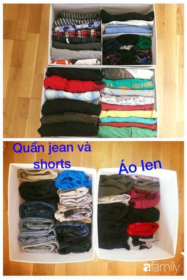 Mẹ Việt học người Nhật cách sắp xếp tủ đồ giúp nhà luôn gọn đẹp - Ảnh 9.