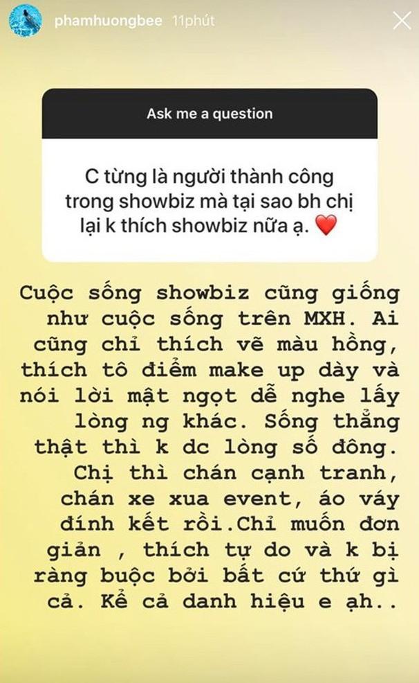 Rời showbiz đã lâu, đến giờ Phạm Hương mới tiết lộ lý do sang Mỹ thực sự - Ảnh 3.
