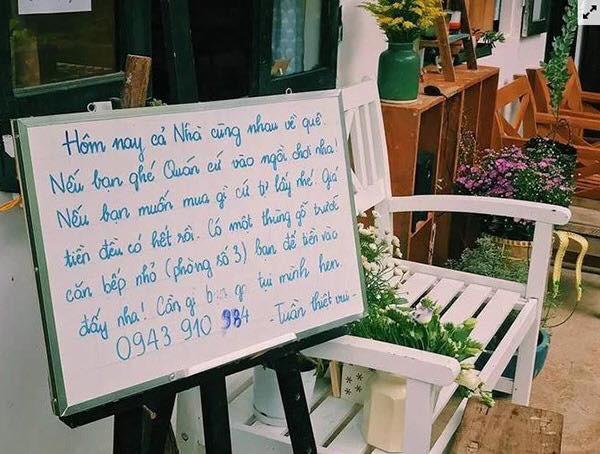 Chuyện quán cà phê tự phục vụ, tự thanh toán ở Đà Lạt bị khách hàng trộm cắp: Khi lòng tốt và niềm tin nơi con người của thành phố ngàn sương bị chà đạp - Ảnh 2.