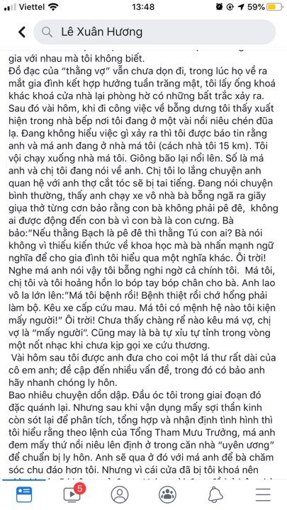 """4 chương chưa phải kết thúc, NS Xuân Hương tiếp tục tung """"chương 5"""" kể chuyện phải tới đồn công an để cứu """"người tình"""" của chồng cũ  - Ảnh 3."""