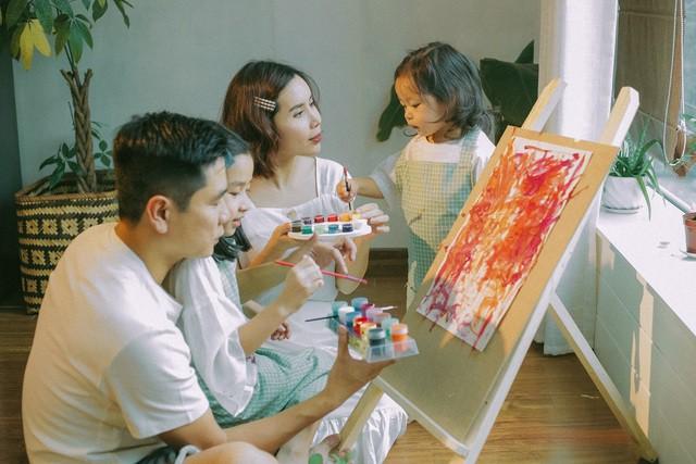 """Trước khi đường ai nấy đi, vợ chồng Lưu Hương Giang - Hồ Hoài Anh là một """"cặp bài trùng"""" trong cách dạy con - Ảnh 5."""
