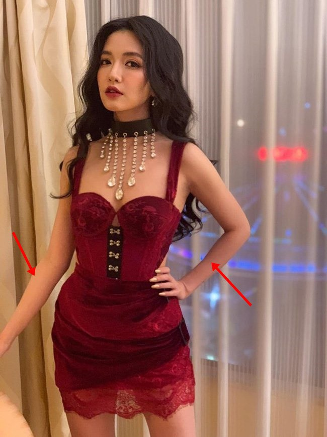 Khoe ảnh sexy hết nấc, Bích Phương để lộ bằng chứng photoshop quá đà - Ảnh 1.