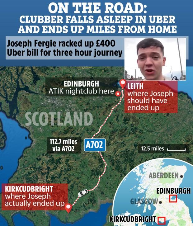 """Tỉnh dậy sau đêm """"quẩy"""" hết nấc, anh thanh niên thức dậy giữa cánh đồng cách nhà 160km và hóa đơn Uber 11,5 triệu đồng - Ảnh 2."""