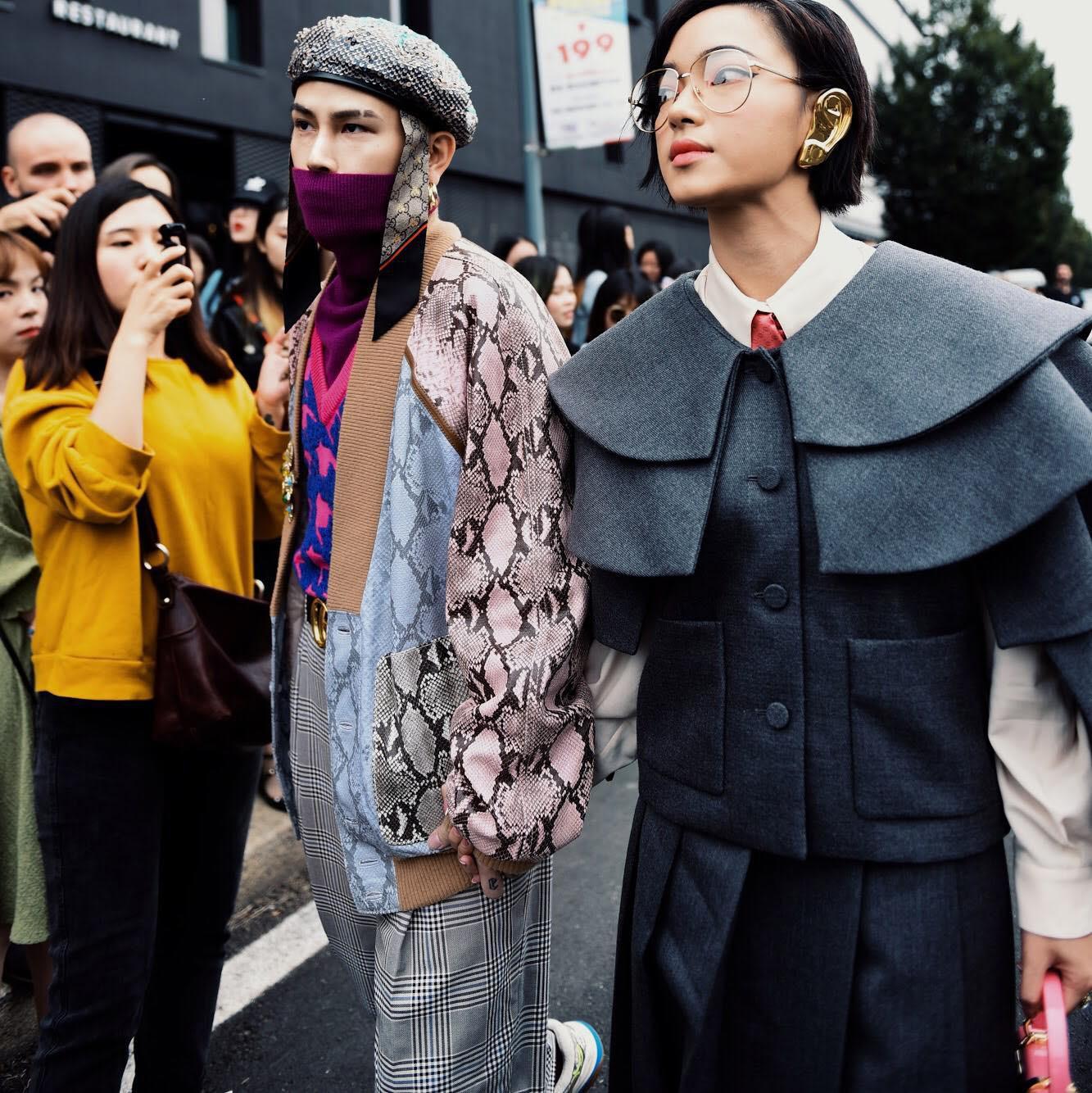 Vừa lập kỷ lục ngồi front row loạt show khủng, Châu Bùi còn lọt top street style của 5 web thời trang đình đám - Ảnh 1.