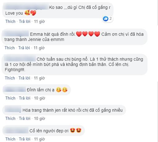 Bị fan BLACKPINK nghi hát nhép, chê bụng mỡ khi đóng giả Jennie, Emma Nhất Khanh lên tiếng đáp trả - Ảnh 8.