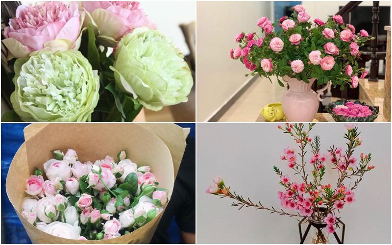 Thời buổi công nghệ, thị trường online bao thầu luôn cả hoa tươi nhập khẩu, mua bán nhanh gọn mà giá cả cũng phải chăng