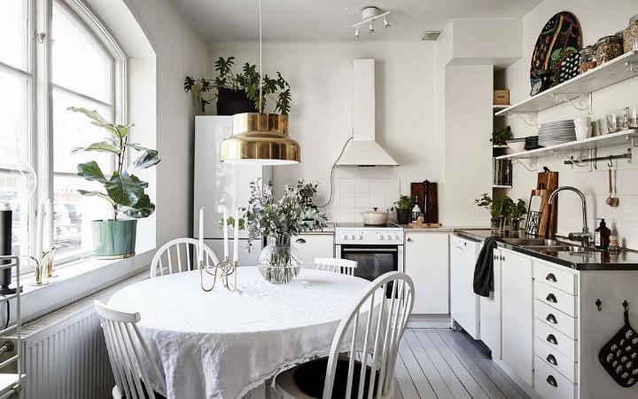 10 cách siêu nhanh và siêu dễ để tạo một không gian nấu nướng đẹp thanh lịch theo phong cách Scandinavian