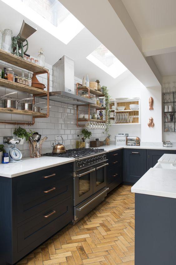 10 ý tưởng thiết kế kệ siêu xinh cho nhà bếp đón năm mới - Ảnh 10.