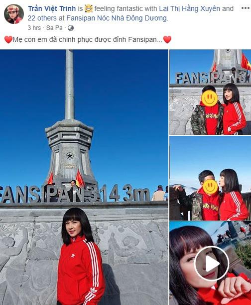 """Lâu lâu mới lộ diện, con trai 11 tuổi của """"Người đẹp Tây Đô"""" Việt Trinh khiến cộng đồng mạng ngạc nhiên vì cao lớn bằng mẹ - Ảnh 2."""