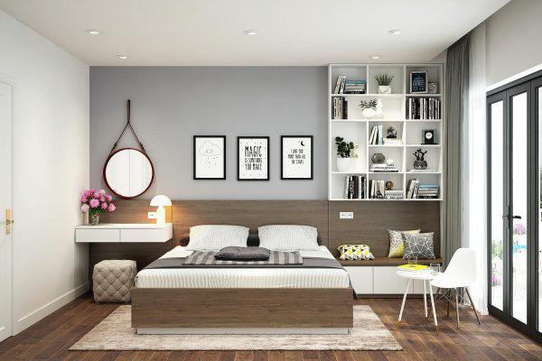 Tư vấn thiết kế căn hộ tập thể 52m2 với chi phí 140 triệu đồng - Ảnh 14.
