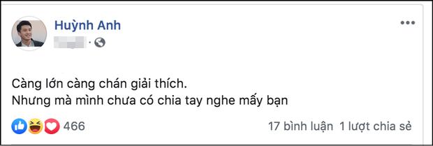 Trước tin đồn chia tay bạn gái Việt kiều, Huỳnh Anh cuối cùng đã có động thái đáp trả - Ảnh 2.