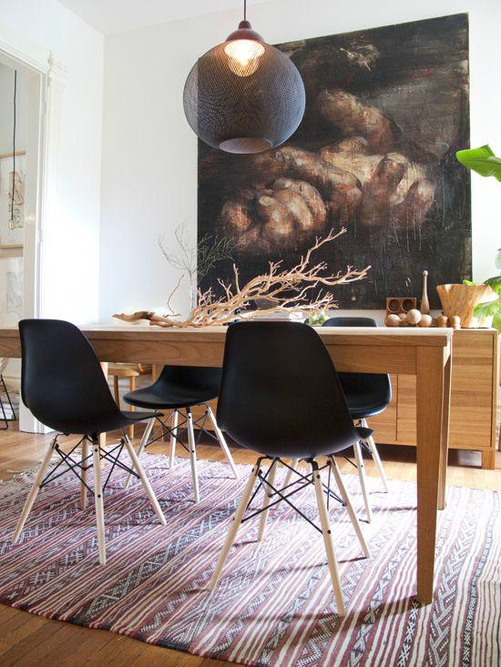 """Những ý tưởng tạo vẻ đẹp """"thời thượng"""" cho phòng ăn bằng bí quyết kết hợp nội thất - Ảnh 3."""