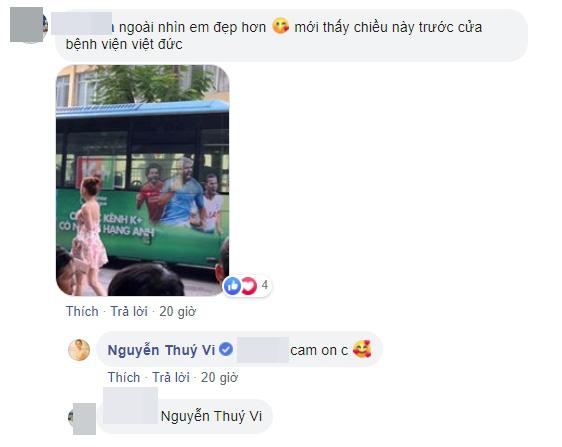 Thúy Vi bất chấp trời Hà Nội se lạnh vẫn mặc chiếc váy hoa mỏng tang nhưng bất ngờ hơn cả là bình luận của dân mạng khi nhìn thấy hot girl ngoài đời - Ảnh 3.