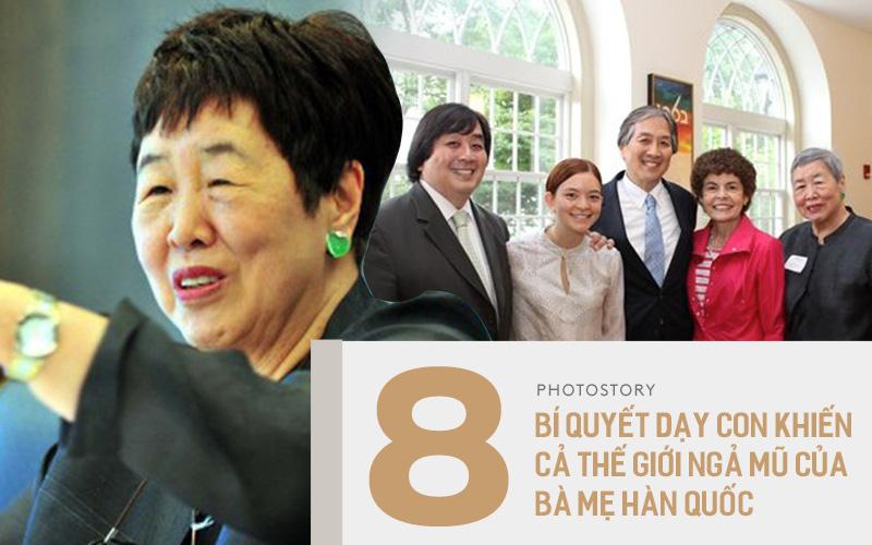 8 lời khuyên của bà mẹ Hàn Quốc nuôi dạy 6 con thành tiến sĩ khiến cả thế giới nể phục: Bố mẹ nào bỏ qua sẽ rất tiếc!