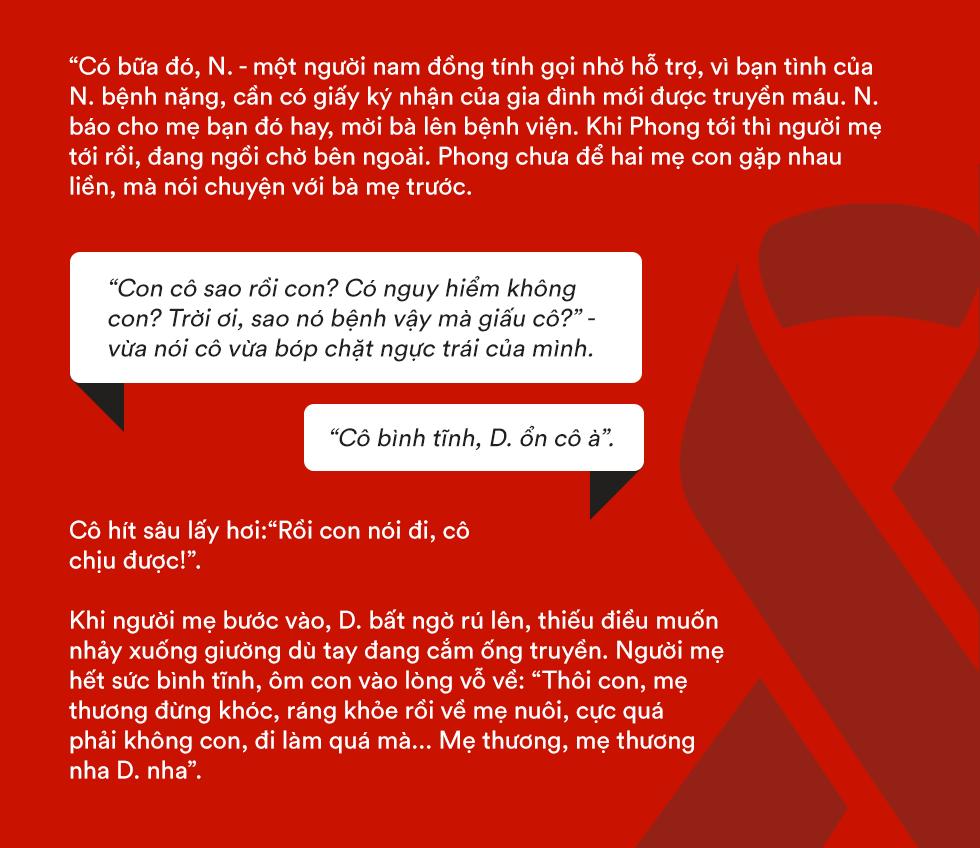 Hai thủ lĩnh tinh thần của người có HIV Việt Nam: Tại sao khi bị ung thư, người ta có thể tự tin la lên với cả thế giới và được yêu thương vô ngần, HIV thì không? - Ảnh 9.