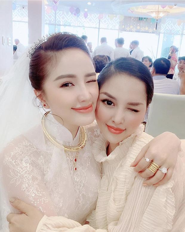 Bảo Thy lộ nhan sắc thật và chi tiết kém đẹp mắt qua loạt ảnh trong bữa tiệc sau lễ rước dâu chưa được photoshop - Ảnh 4.