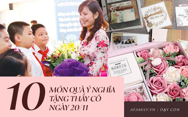 Gợi ý 10 món quà dành tặng thầy cô nhân Ngày Nhà giáo Việt Nam 20/11: Ý nghĩa, đa dạng mẫu mã, giá cả phù hợp