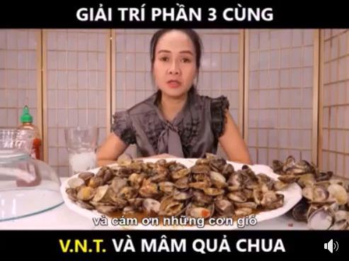 """Youtuber Vinh Nguyễn Thị tiếp tục khiến dân mạng cười bò bằng màn chê quả cóc chua """"có hậu"""". khen xoài ngọt """"nết na""""  - Ảnh 3."""