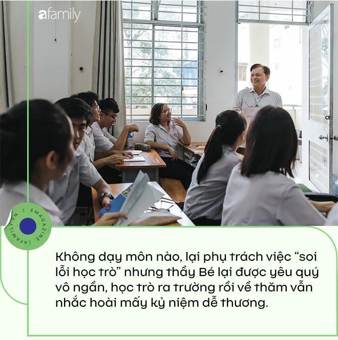 """Thầy giám thị """"độc nhất vô nhị"""" ở Sài Gòn, 21 năm được học sinh say mê, nghỉ hưu rồi học trò buồn vì mất người """"bảo vệ""""  - Ảnh 4."""