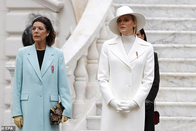 Nhân vật nổi bật nhất hoàng gia Monaco, làm lu mờ nàng dâu gốc Việt trong sự kiện khi diện nguyên cây trắng sành điệu và khí chất khó ai bì kịp - Ảnh 4.