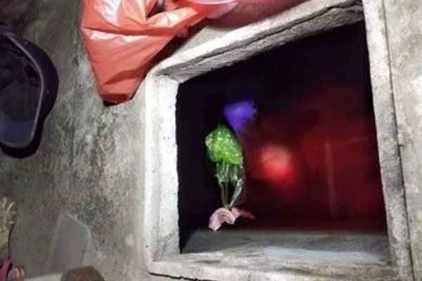 Vụ con rể sát hại mẹ vợ rồi giấu xác trong bể nước mưa: Trước khi bị bắt đối tượng đi mua hai chai thuốc cỏ mang về nhà - Ảnh 1.