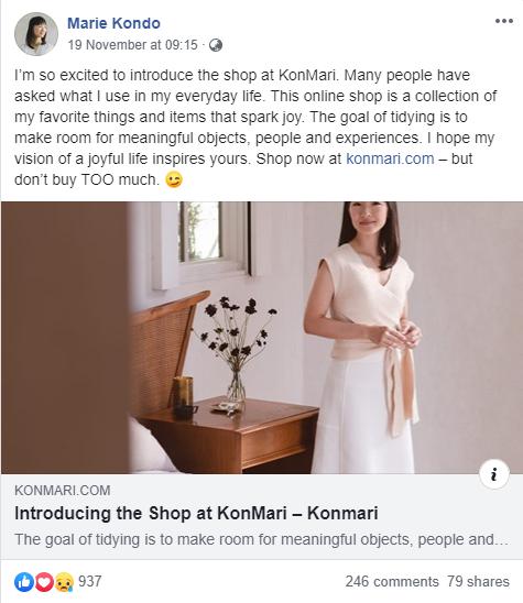 """Thánh nữ dọn nhà Marie Kondo mở cửa hàng bán đồ gia dụng nhưng giá cả chẳng """"ánh lên niềm vui"""" cho lắm - Ảnh 2."""