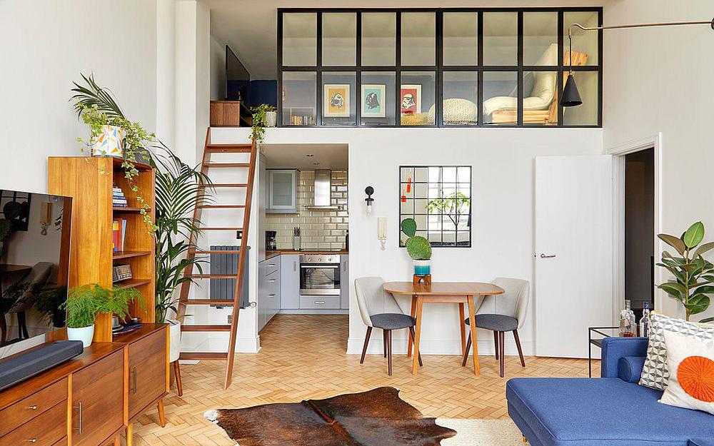 Những ý tưởng thiết kế tạo vẻ đẹp độc đáo và hữu ích cho gác lửng trong các căn hộ