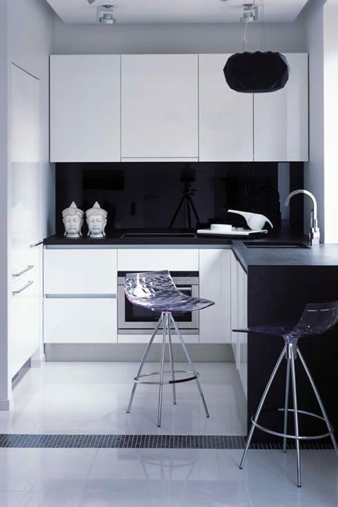 Những ý tưởng trang trí nhà bếp màu đen siêu ấn tượng - Ảnh 23.