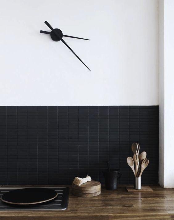 Những ý tưởng trang trí nhà bếp màu đen siêu ấn tượng - Ảnh 9.