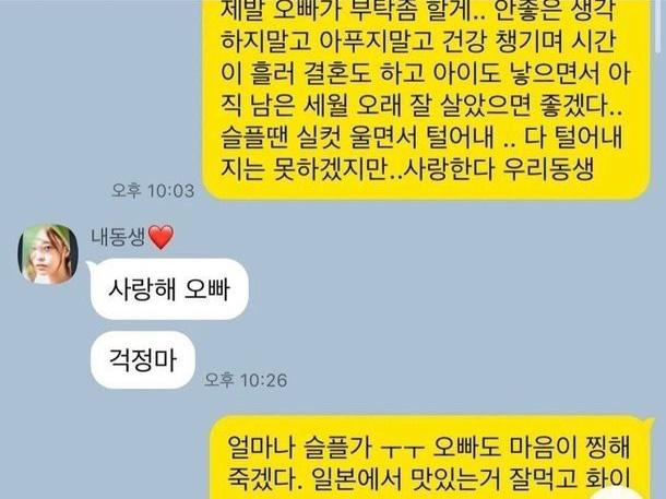 Anh trai tiết lộ tin nhắn cuối cùng của Goo Hara trước khi qua đời, hóa ra cô đã chịu nhiều dày vò tâm lý đến thế này - Ảnh 2.