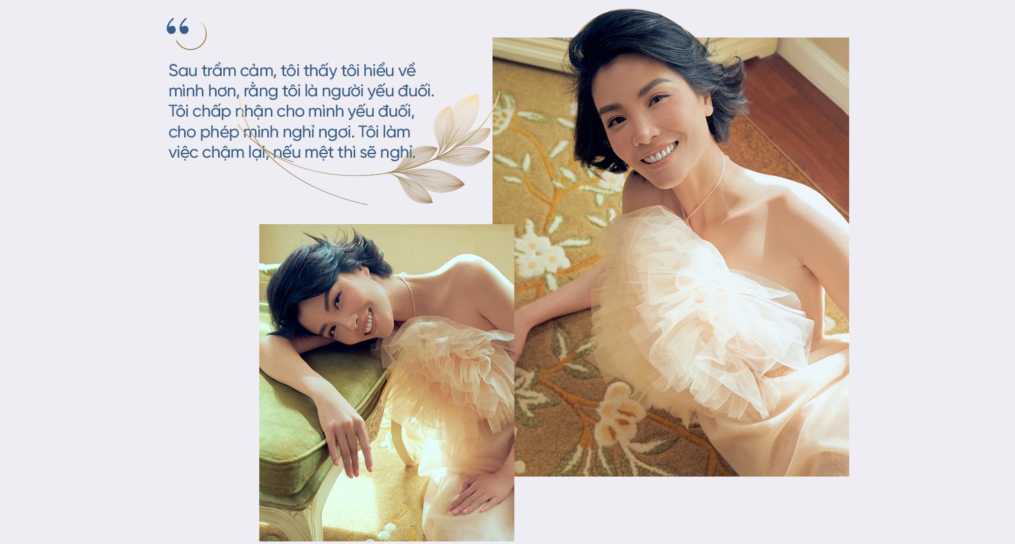 """Siêu mẫu đầu tiên của Việt Nam Vũ Cẩm Nhung: Người đàn bà thép trải qua 20 lần thụ tinh ống nghiệm để tìm con, hồi sinh sau trầm cảm để thành một """"tôi"""" tốt hơn - Ảnh 11."""