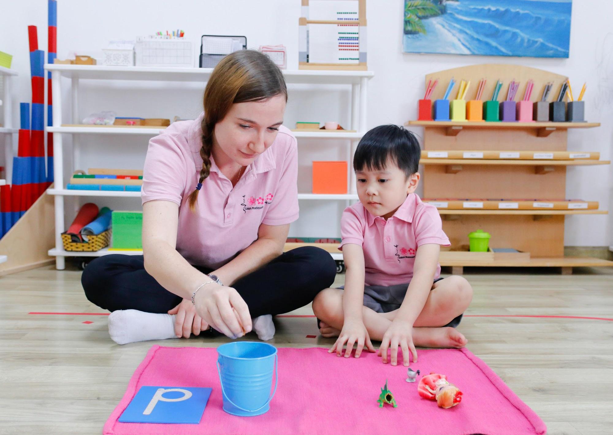 Khám phá trường mầm non tiên phong phương pháp Montessori tại Việt Nam - Ảnh 1.