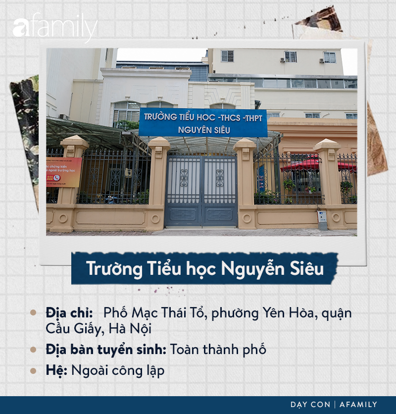 Danh sách các trường tiểu học tại quận Cầu Giấy: Chiếm gần một nửa là hệ ngoài công lập, ghi dấu ấn với trường Nguyễn Siêu - Ảnh 16.