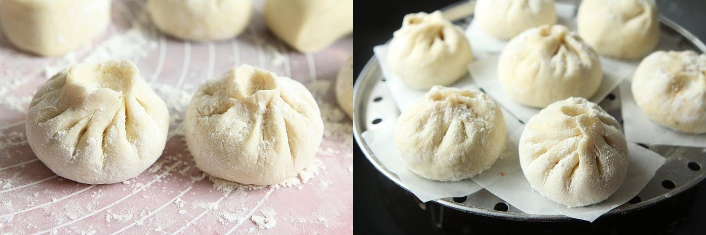 Làm bánh bao mà dễ thế này thì ai cũng làm được chẳng cần đi mua! - Ảnh 5.