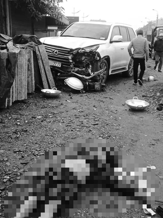 """Lộ diện tài xế Lexus biển ngũ quý """"7"""" gây tai nạn khiến 1 người phụ nữ tử vong  - Ảnh 1."""