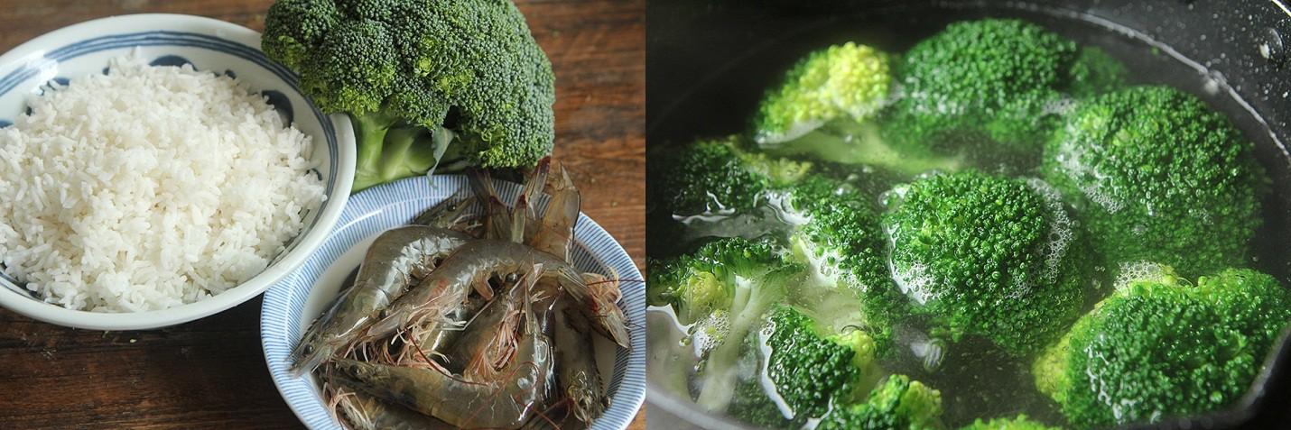 """Đầu tuần bận rộn, tôi làm món cơm chiên """"màu xanh"""" là cả nhà ăn đủ chất mà lại nhanh - Ảnh 1."""